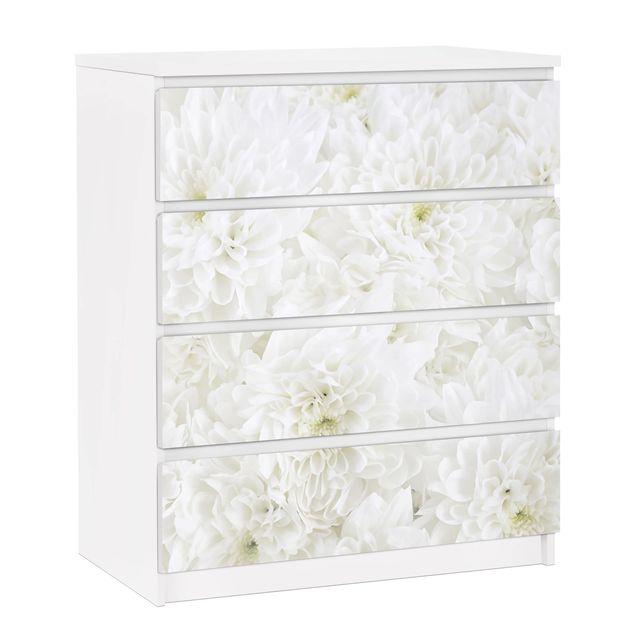 Ikea Malm Kommode 4 Schubladen Weiß 2021