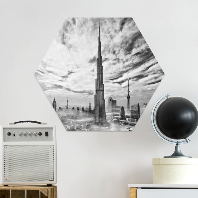 Hexagon Bild Forex - Dubai Super Skyline