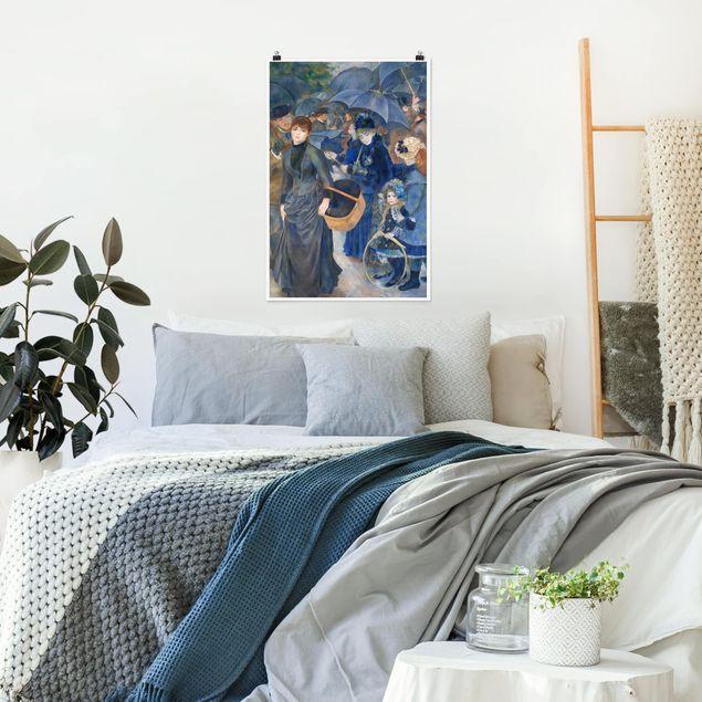 Poster - Auguste Renoir - Die Regenschirme - Hochformat 3:2