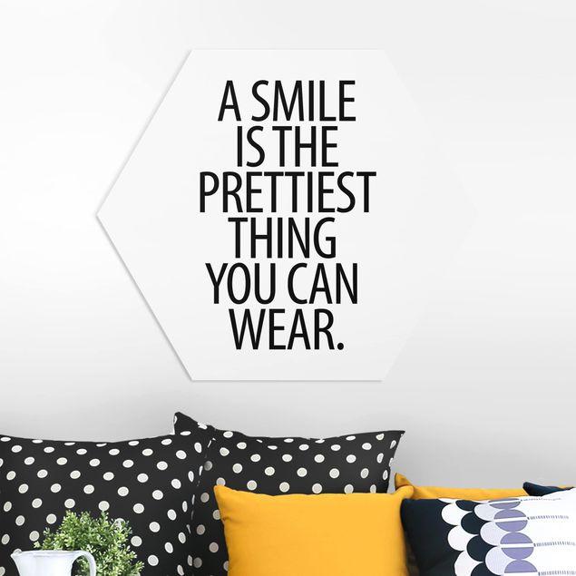 Hexagon Bild Forex - A Smile is the prettiest thing Sans Serif