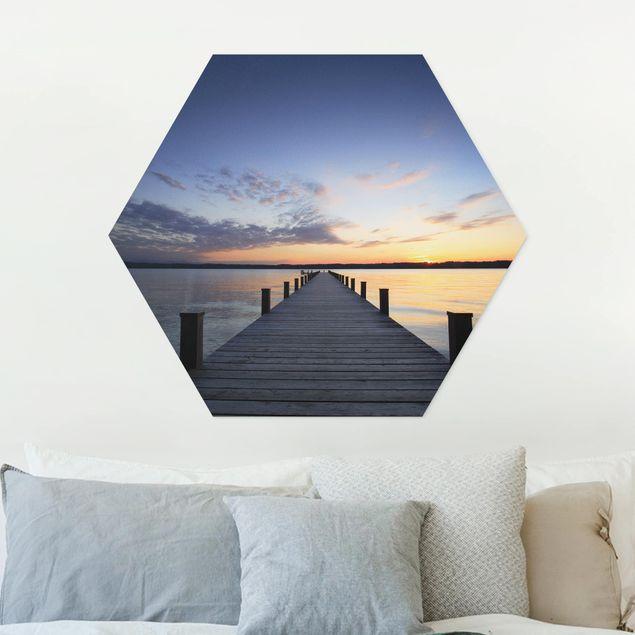 Hexagon Bild Forex - Ort der Ruhe