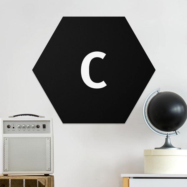 Hexagon Bild Forex - Buchstabe Schwarz C