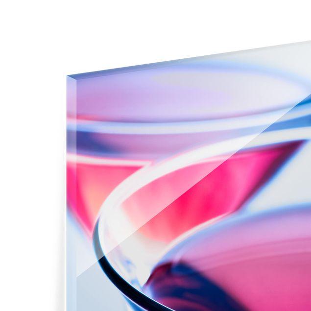 Glas Spritzschutz - Dainty Cosmopolitan - Quadrat - 1:1