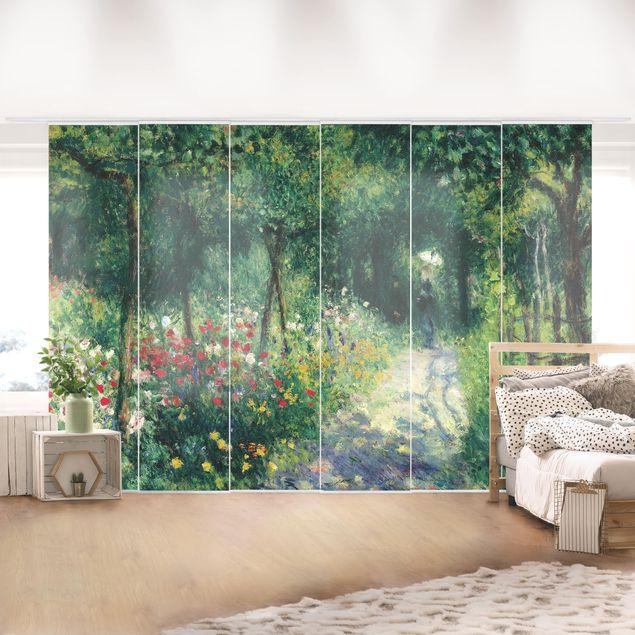 Schiebegardinen Set - Auguste Renoir - Frauen im Garten - 6 Flächenvorhänge