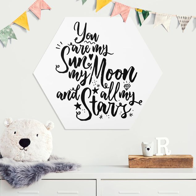 Hexagon Bild Forex - You are my Sun, my Moon and all my Stars