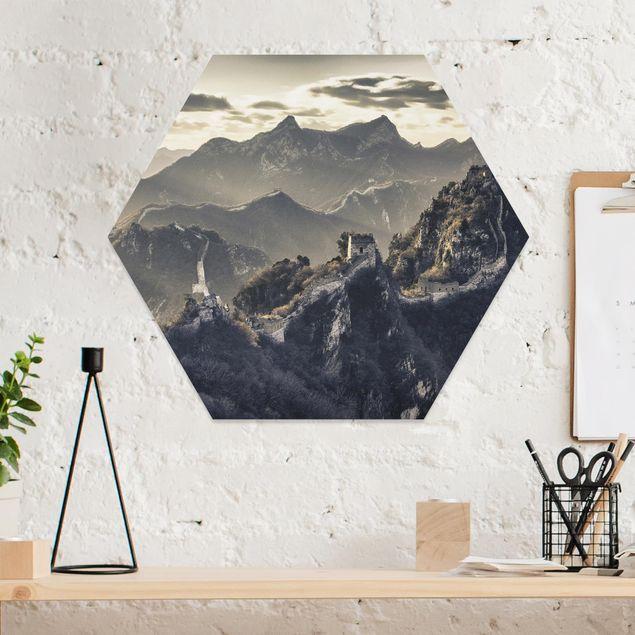 Hexagon Bild Forex - Die große chinesische Mauer