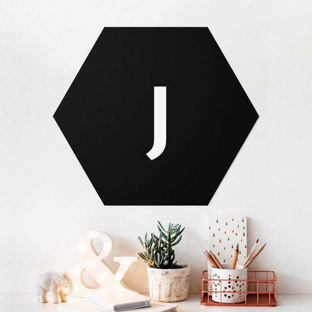 Hexagon Bild Forex - Buchstabe Schwarz J