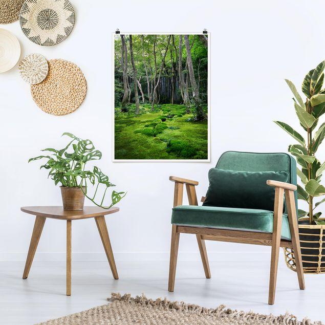Poster - Growing Trees - Hochformat 3:4