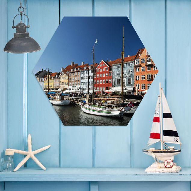 Hexagon Bild Forex - Hafen in Kopenhagen