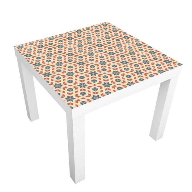 Möbelfolie für IKEA Lack - Klebefolie Pop Art Design