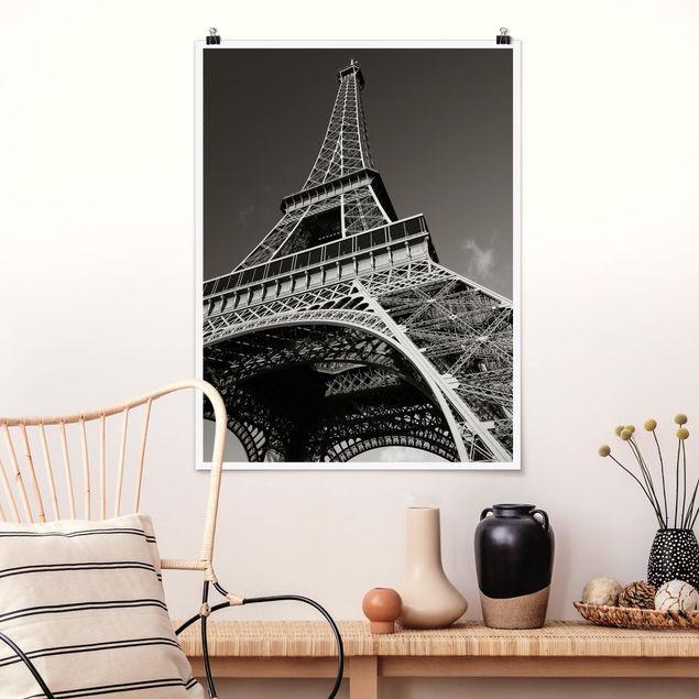 Poster - Eiffelturm - Hochformat 3:4