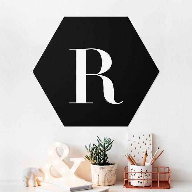 Hexagon Bild Forex - Buchstabe Serif Schwarz R