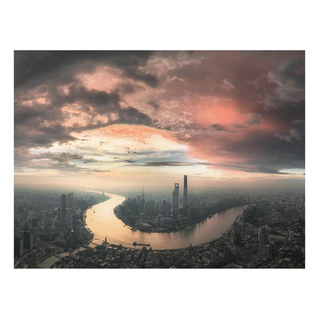 Forex Fine Art Print - Shanghai am Morgen - Querformat 3:4
