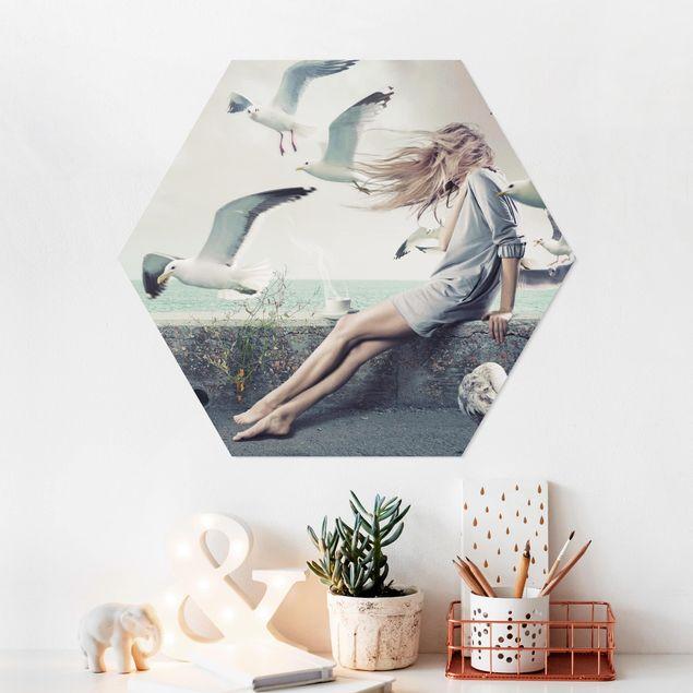 Hexagon Bild Forex - Kaffee am Meer