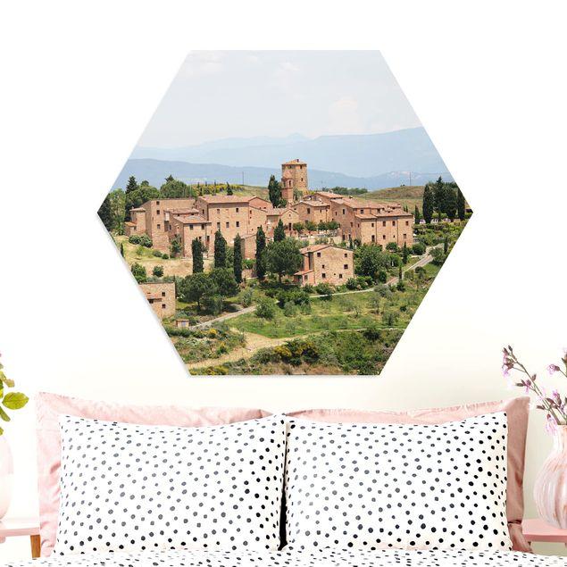 Hexagon Bild Forex - Charming Tuscany