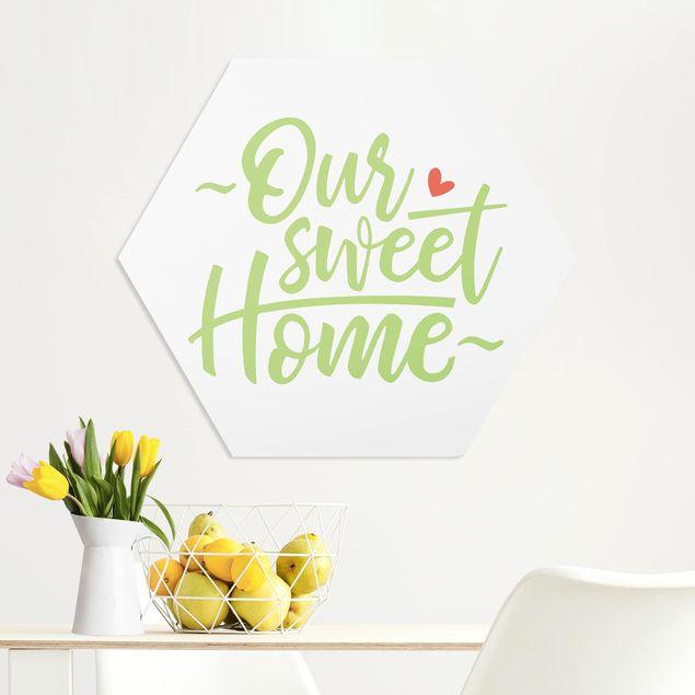 Hexagon Bild Forex - Our sweet home