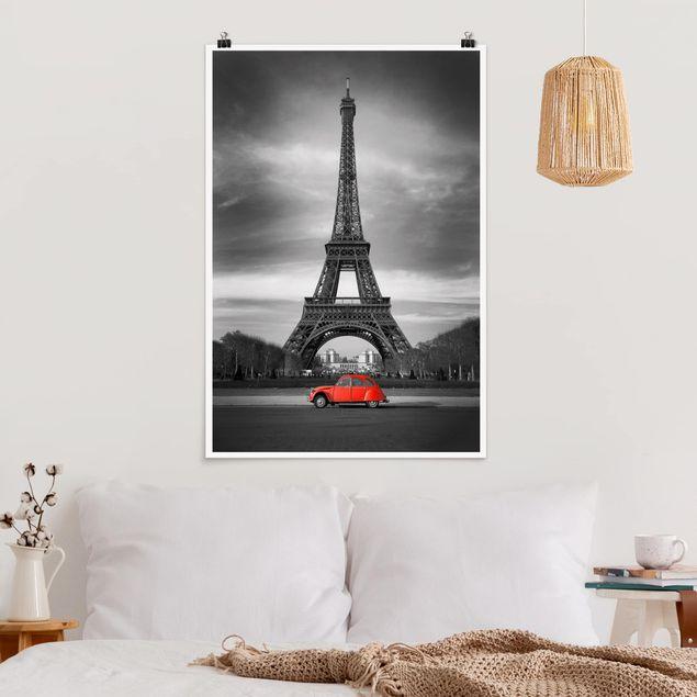 Poster - Spot on Paris - Hochformat 3:2