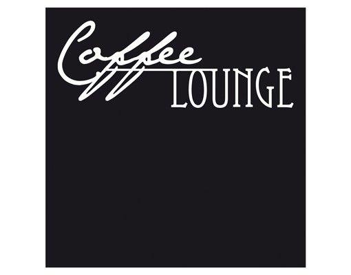 Wandtattoo Sprüche - Wandtattoo Namen No.CA27 Wunschtext Coffee Lounge II