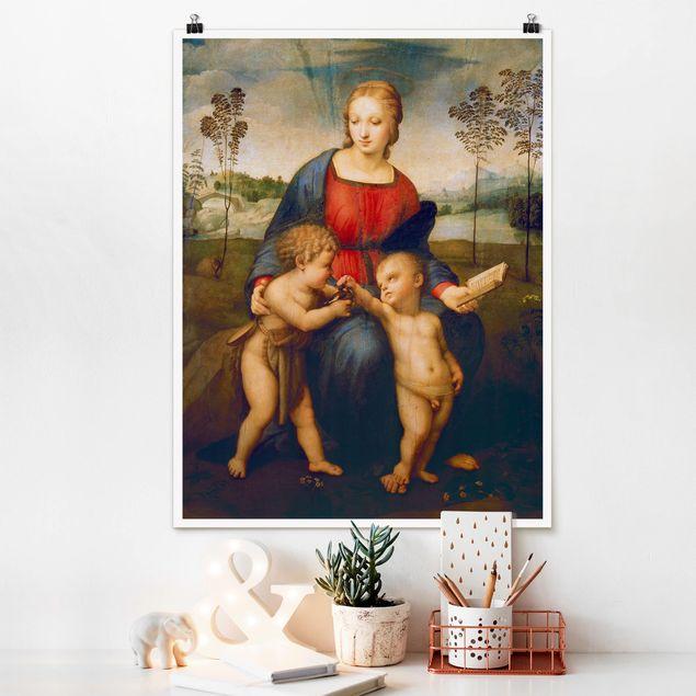Poster - Raffael - Die Madonna - Hochformat 3:4