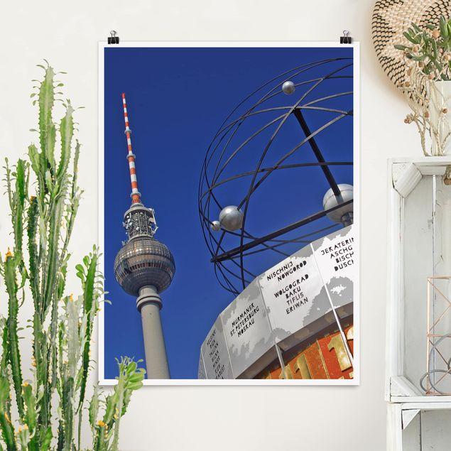 Poster - Berlin Alexanderplatz - Hochformat 3:4