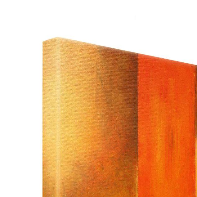 Leinwandbild Gold - Amarna - Querformat 4:3