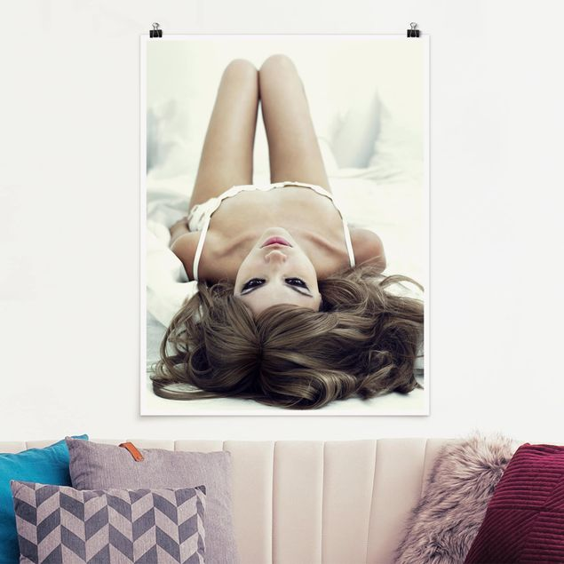 Poster - Come to Bed, Babe - Hochformat 3:4