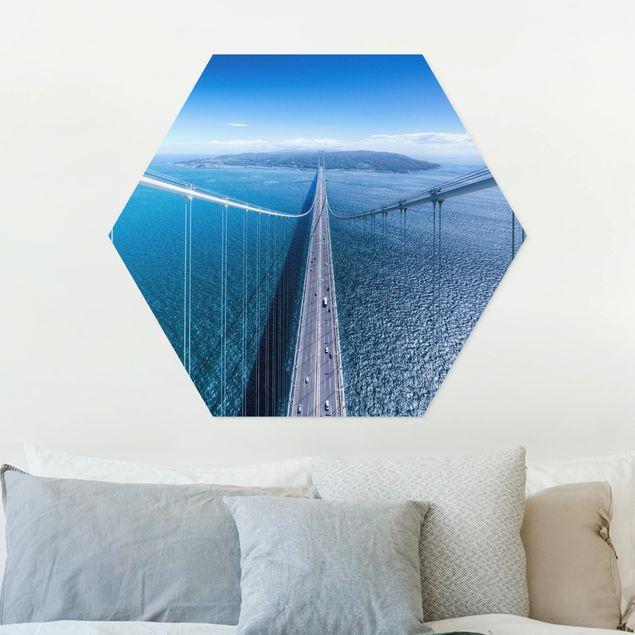 Hexagon Bild Forex - Brücke zur Insel