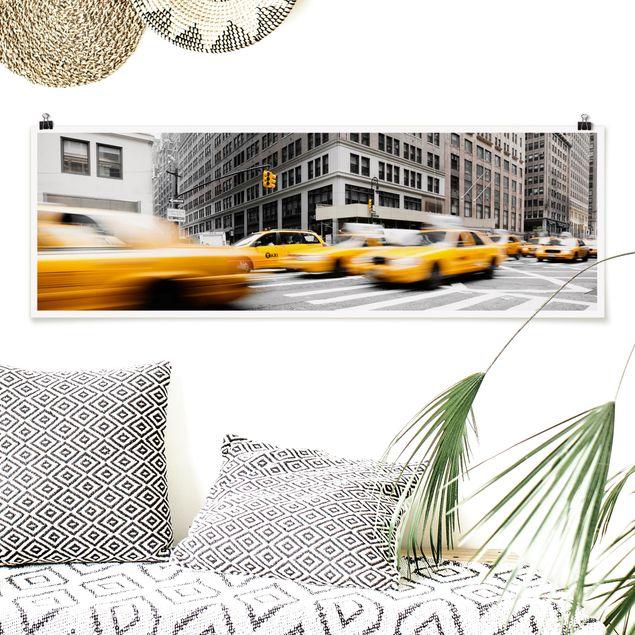 Poster - Rasantes New York - Panorama Querformat