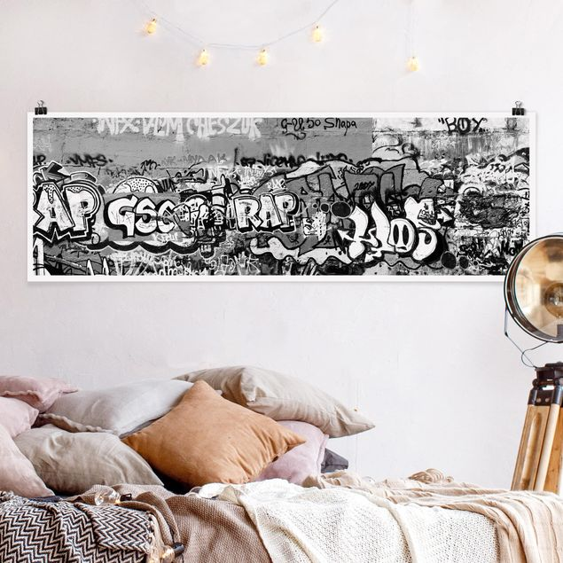 Poster - Graffiti Art - Panorama Querformat