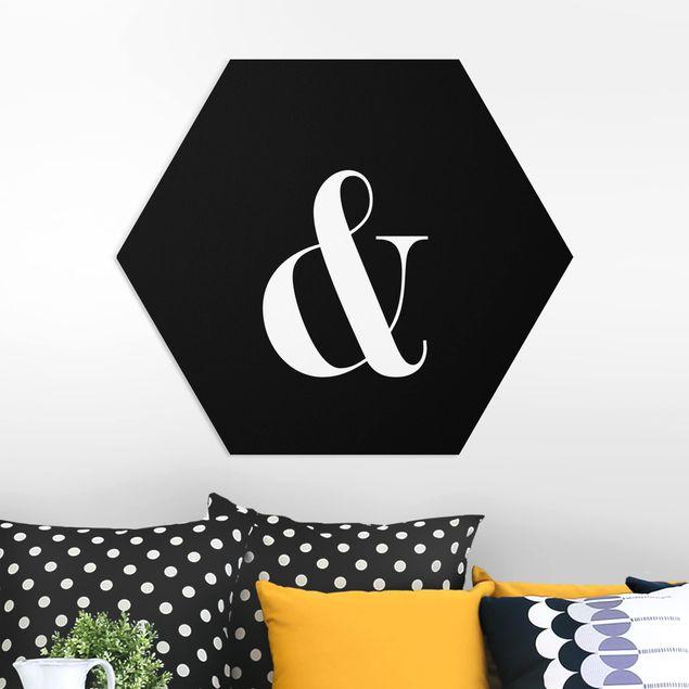 Hexagon Bild Forex - Buchstabe Serif Schwarz &