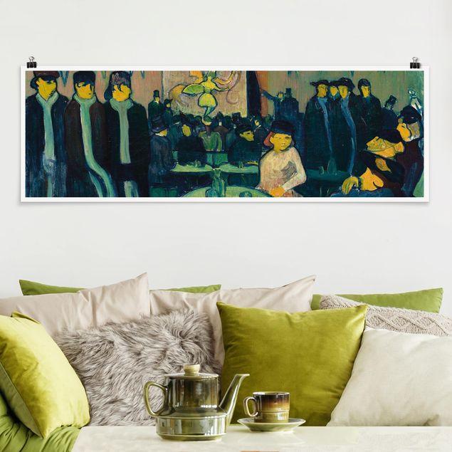 Poster - Emile Bernard - Das Tabarin oder Kabarett in Paris - Panorama Querformat