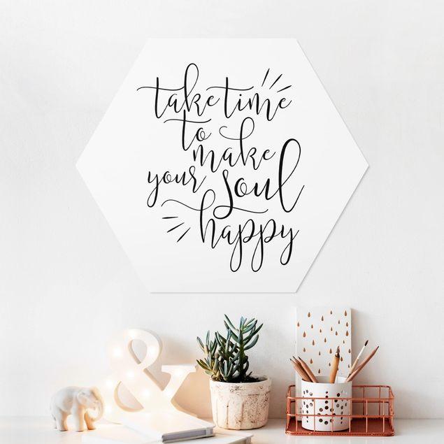 Hexagon Bild Forex - Take time to make your soul happy