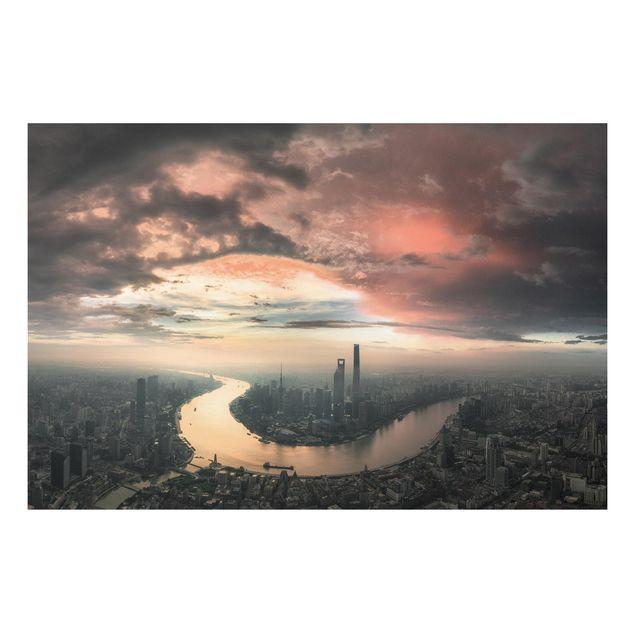 Forex Fine Art Print - Shanghai am Morgen - Querformat 2:3