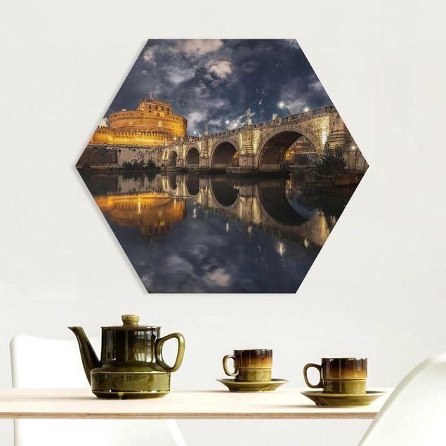 Hexagon Bild Forex - Ponte Sant'Angelo in Rom