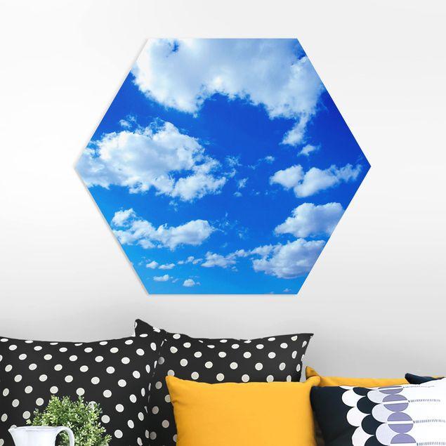 Hexagon Bild Forex - Wolkenhimmel