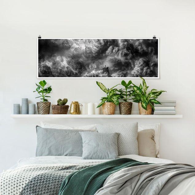 Poster - Ein Sturm zieht auf - Panorama Querformat