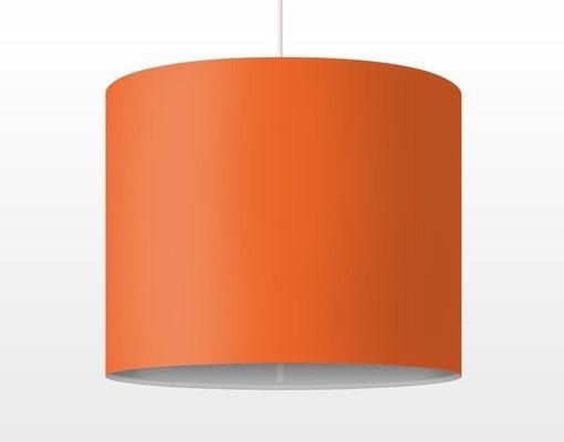 Hängelampe - Colour Orange