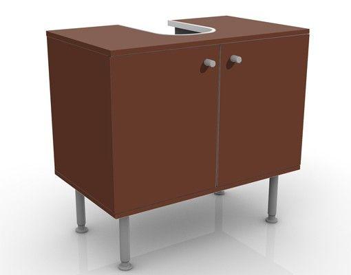Waschbeckenunterschrank - Colour Chocolate - Badschrank Braun