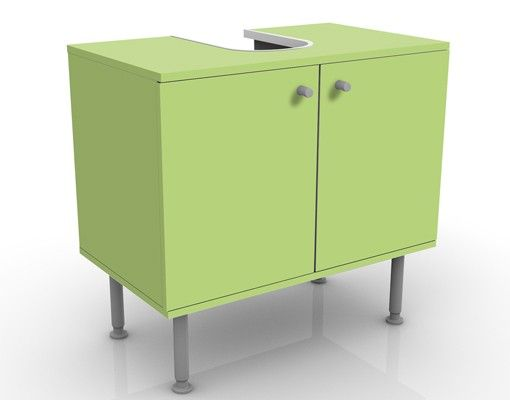 Waschbeckenunterschrank - Colour Spring Green - Badschrank Grün