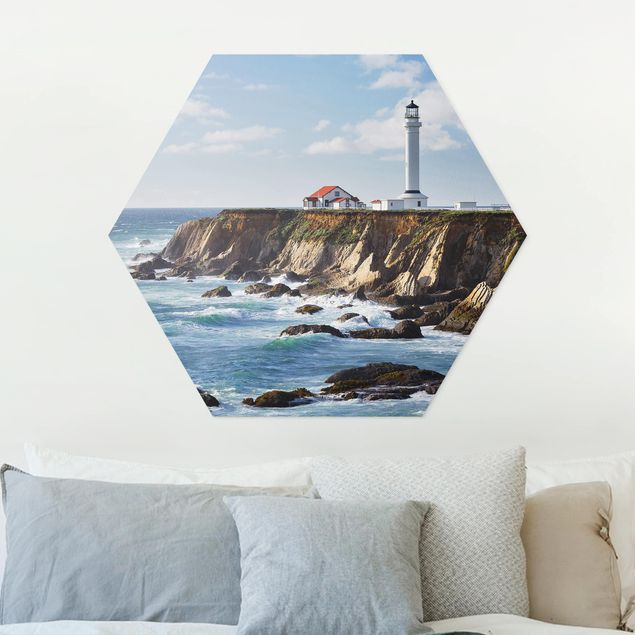 Hexagon Bild Forex - Point Arena Lighthouse Kalifornien