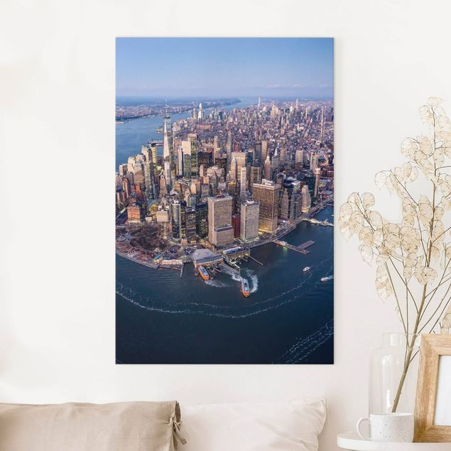Leinwandbild - Big City Life - Hochformat 2:3