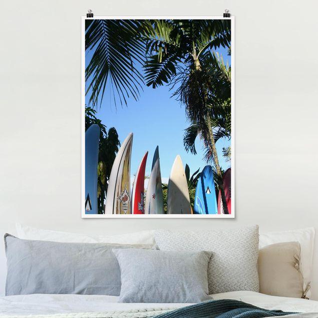 Poster - Surfers Paradise - Hochformat 3:4