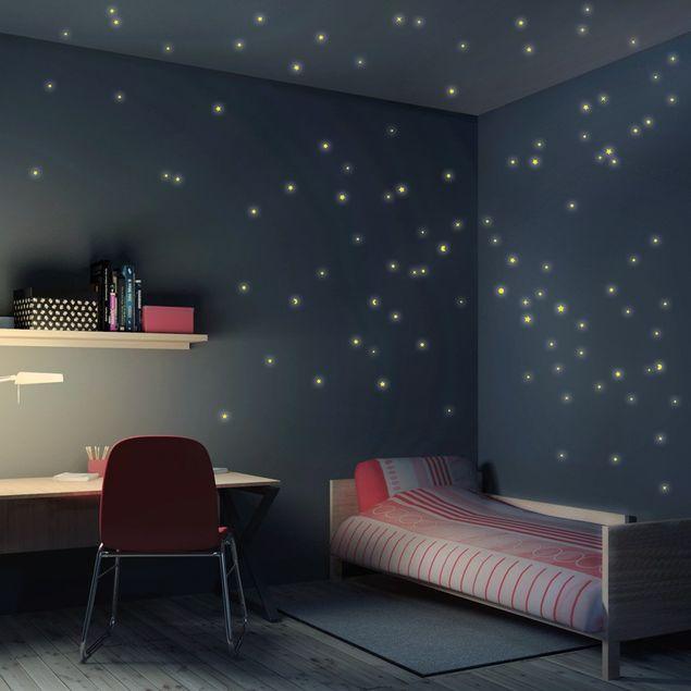 Wandtattoo Kinderzimmer Sternenhimmel 100er Set