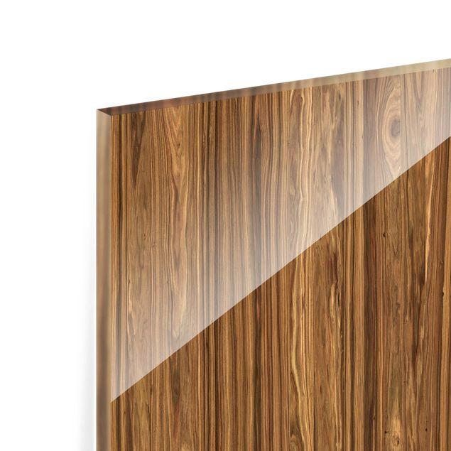 Glas Spritzschutz - Macauba - Quadrat - 1:1