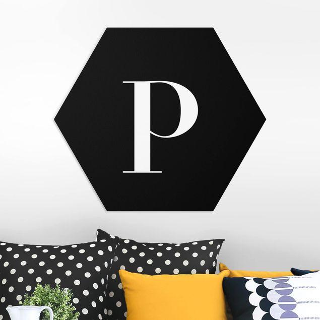 Hexagon Bild Forex - Buchstabe Serif Schwarz P