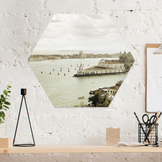 Hexagon Bild Forex - Lagune von Venedig