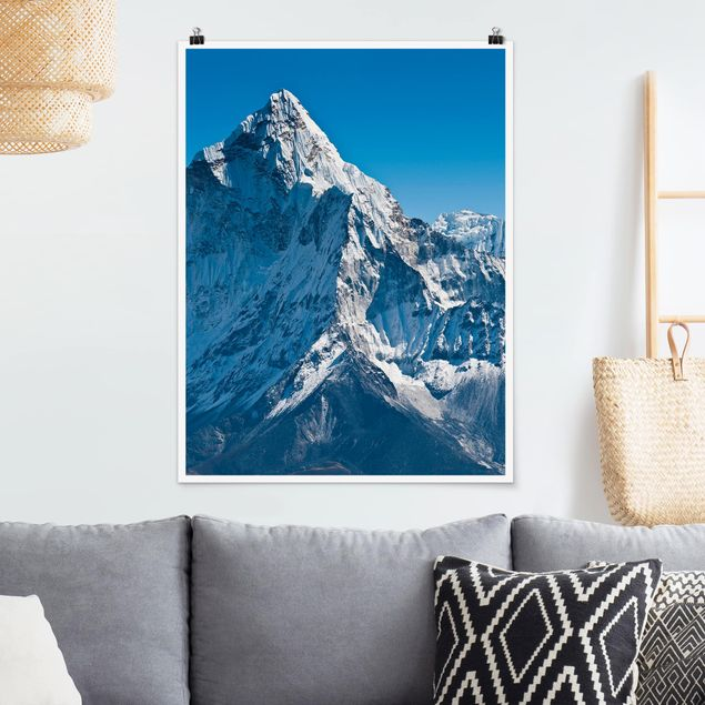 Poster - Der Himalaya - Hochformat 3:4