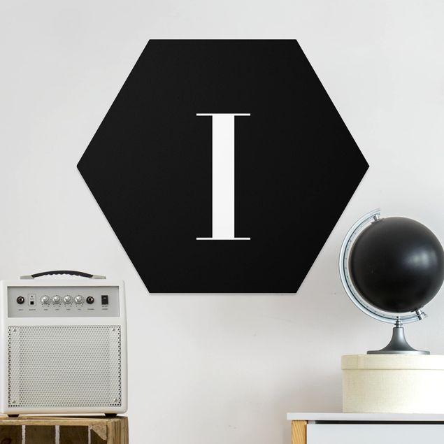 Hexagon Bild Forex - Buchstabe Serif Schwarz I