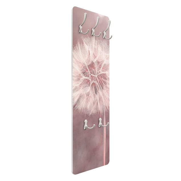 Garderobe - Pusteblume Bokeh rosa