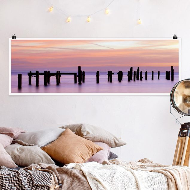 Poster - Meeresromantik - Panorama Querformat